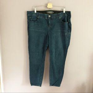 Torrid Bombshell Skinny Jeans Size 20 XS